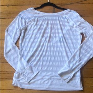 Barely worn light workout top